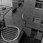 Intervención en el espacio urbano. Pérgola Barrio de Saconia. Madrid. 2005.