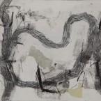 Concentración de gotas: grabado, momotipo sobre papel, 24,5 x 16,5 cm. 2011