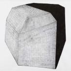 Poliedro: lapiz y tinta pigmentada, sobre papel, 100x80cm. 2012.